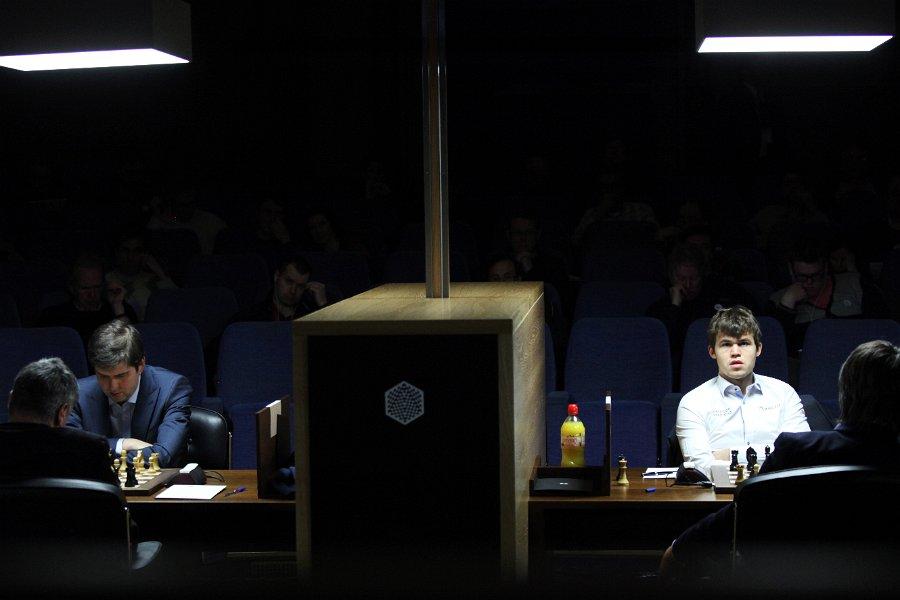 Svidler, Carlsen