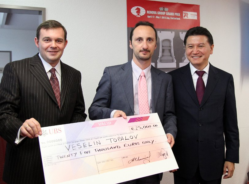Topalov - winner of the event