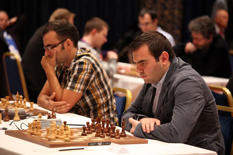 Playing hall, Mamedyarov