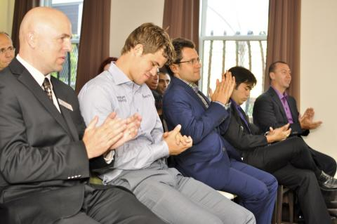 Carlsen, Aronian, Nakamura and Kamsky