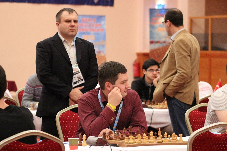 Moiseenko and team captain Sulypa