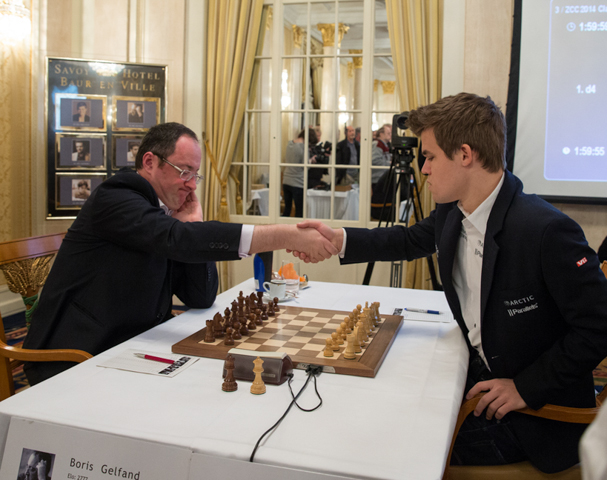 Carlsen-Gelfand