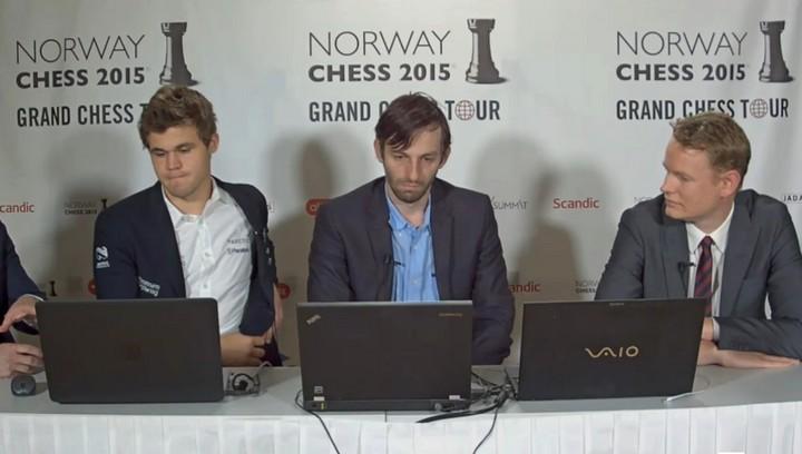 Carlsen, Grischuk, Gustafsson