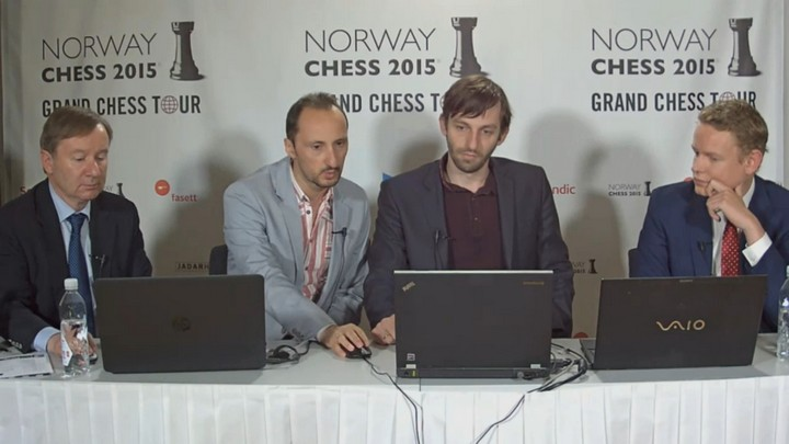 Grischuk-Topalov Press Conference