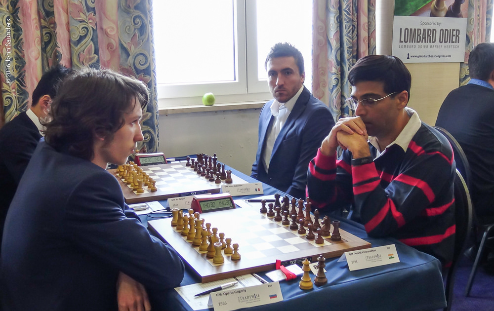 Oparin-Anand (Photo by John Saunders)
