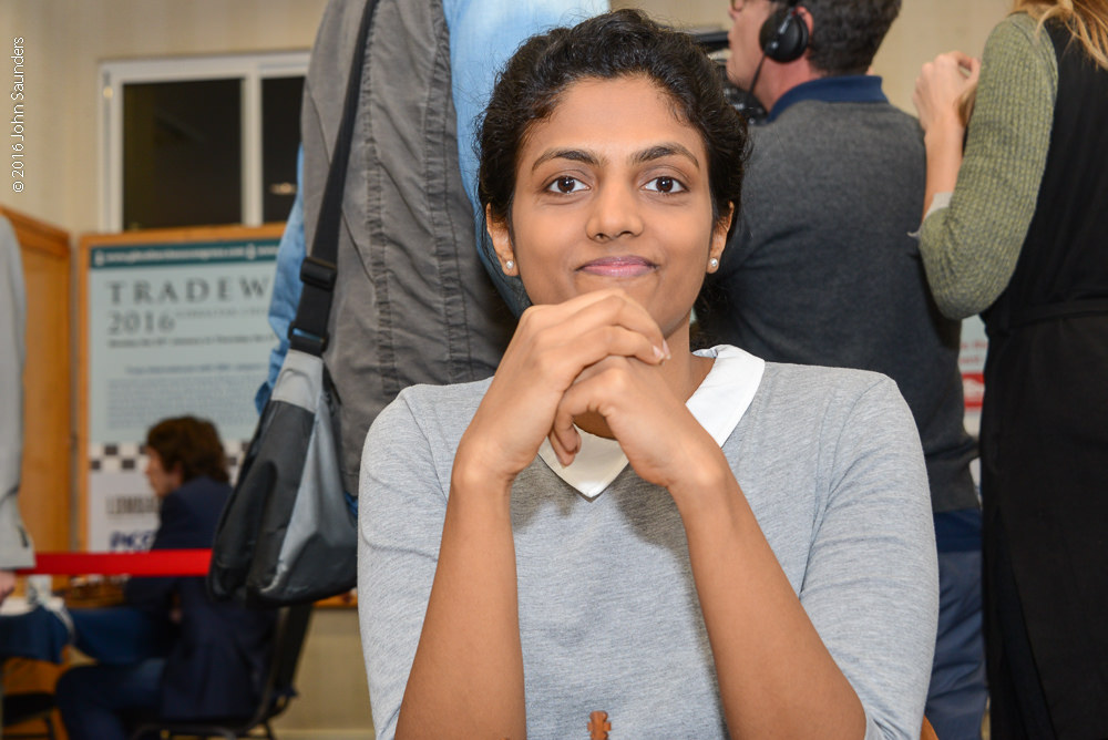 Harika Dronavalli (Photo by John Saunders)