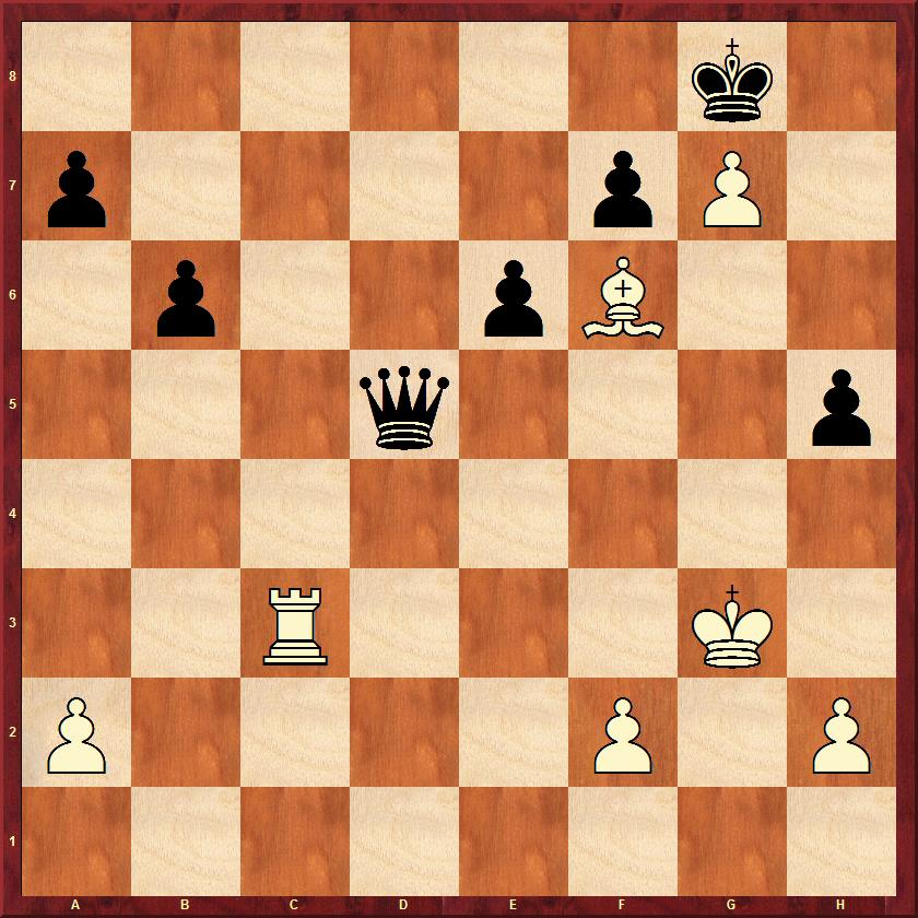 Black to move and win material