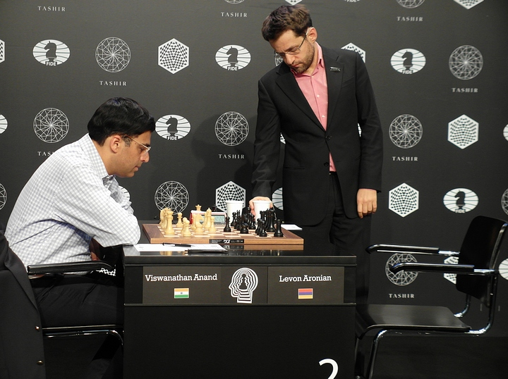 Anand-Aronian (Photo taken from chess-news.ru)