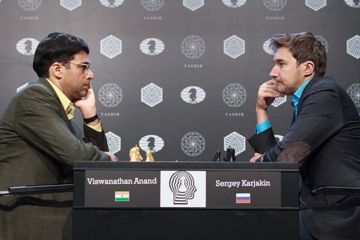 Anand-Karjakin  (Photo taken from chess-news.ru)