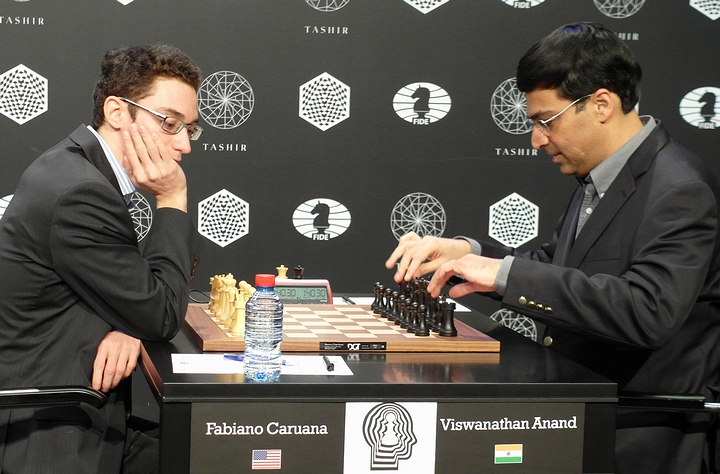 Caruana-Anand (Photo taken from chess-news.ru)