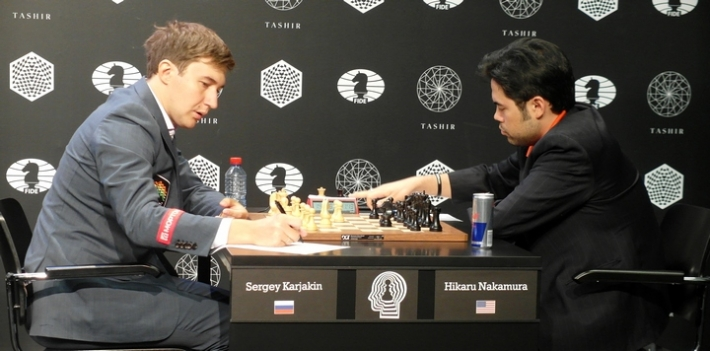 Karjakin-Nakamura (Photo taken from the official site)