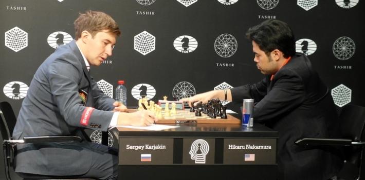 Karjakin-Nakamura (Photo taken from the official site)