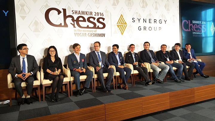 The players. Photo taken from chess-news.ru.