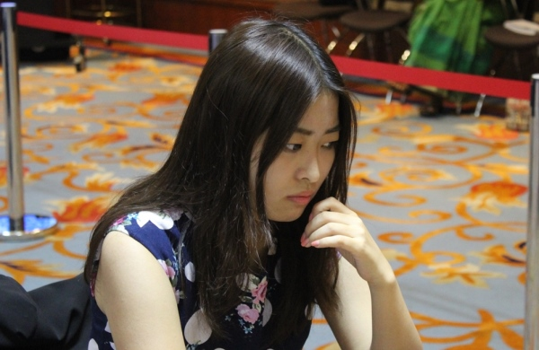 Ju Wenjun (Photo taken from the official site)