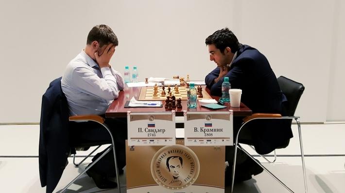Svidler-Kramnik (Photo taken from chess-news.ru)